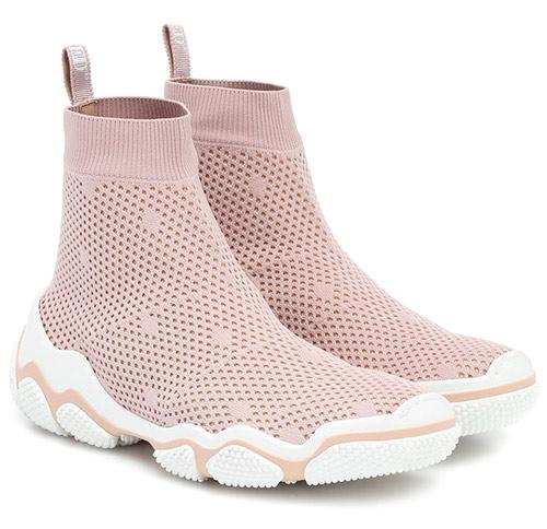Модные кроссовки-носки 2020 RED (V)