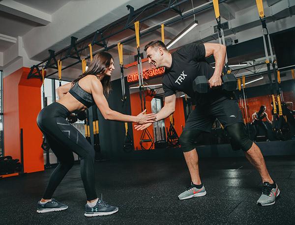 TRX тренировки для мужчин и женщин в Киеве