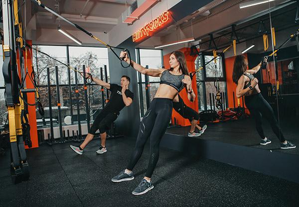 Фитнес тренировки в Киеве спортцентр