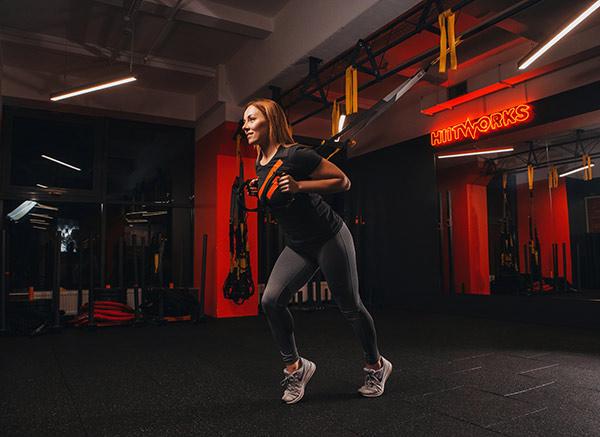 TRX фитнес Киев спортзал