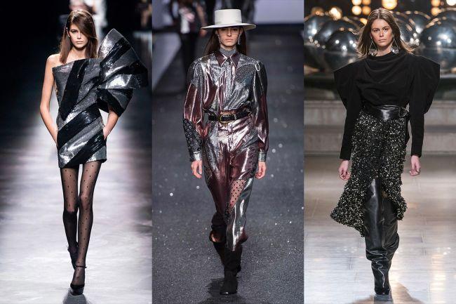 Модные образы 2020 - в стиле 80-х