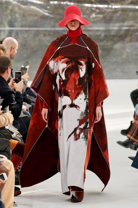 Платье с аппликацией в виде головы тигра Kenzo