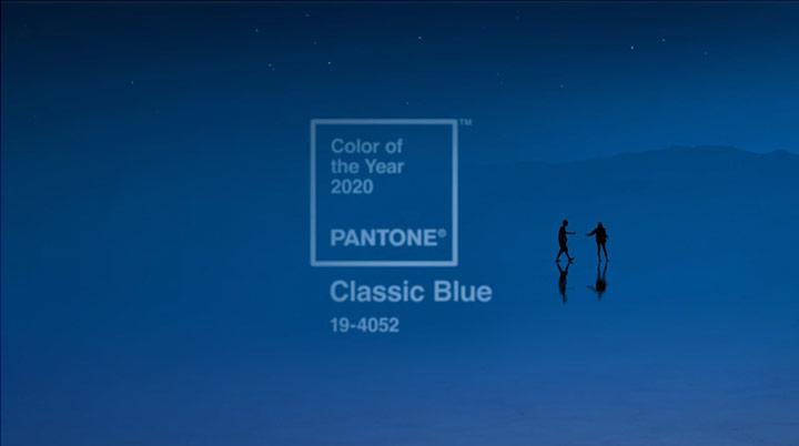 Цвет 2020-года - классический синий