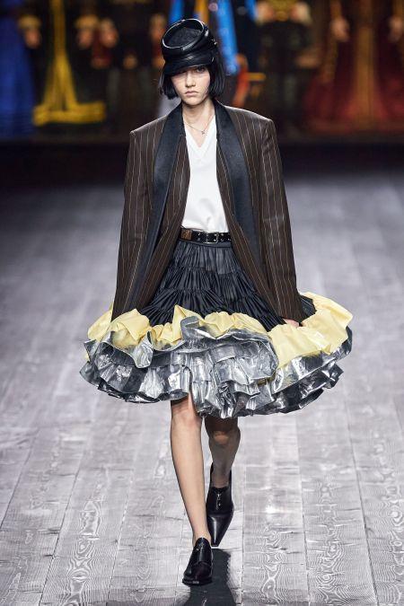 Воздушная многослойная юбка