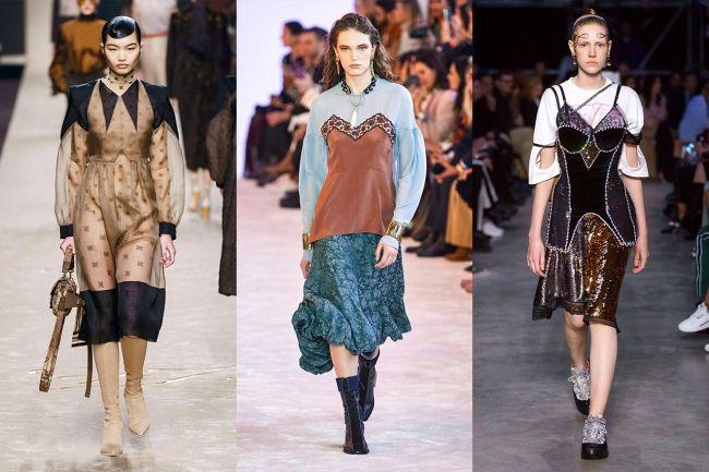 Мода 2020 - бельевой стиль