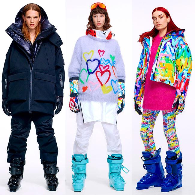 Модные лыжные костюмы Moncler FW 2020