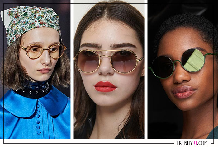 Солнечные очки из коллекций Emporio Armani, Ralph and Russo и Gucci осень-зима 2020