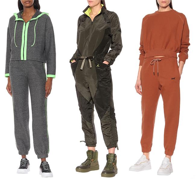 Модная женская спортивная одежда из коллекций Lanston sport, Nike and Reebok X Victoria Bechham 2020