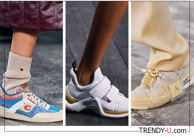 Кроссовки из коллекций Off-White, Louis Vuitton and Coach FW 2020