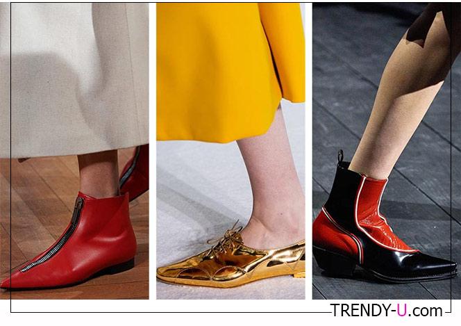 Туфли и ботинки с острым носком 2020