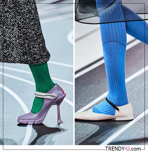 Модные туфли Prada для осени 2020
