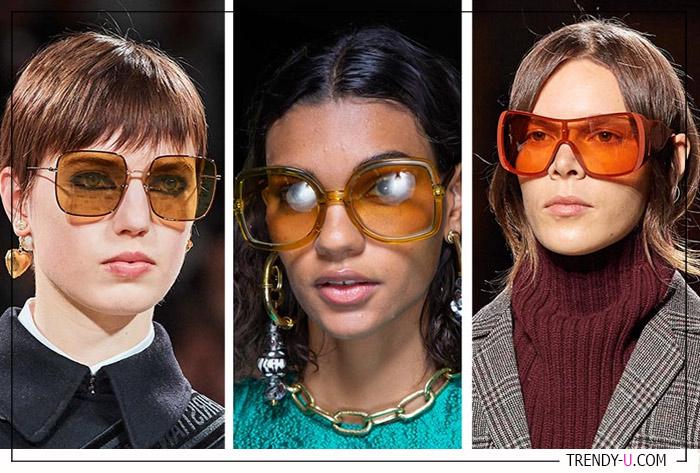 Модные очки из осенне-зимних коллекций Dior, Ulla Johnson и Tods