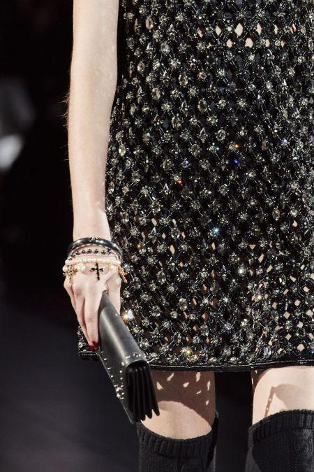 Жемчужный браслет с крестом Dolce & Gabbana