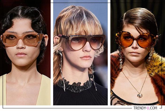 Пластиковые оправы очков от Miu Miu, Chloe и Versace
