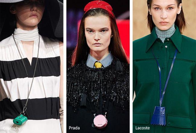 Миниатюрные сумочки можно носить как кулон
