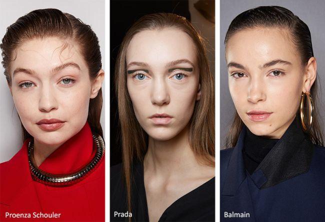Прическа эффект мокрых волос