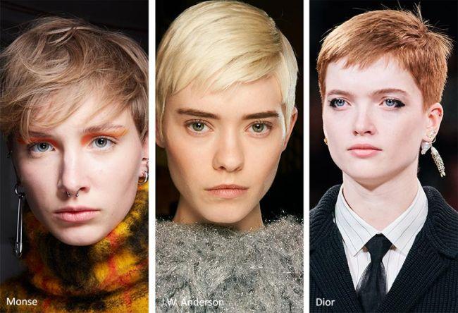 Модная женская стрижка пикси осень-зима 2020-2021