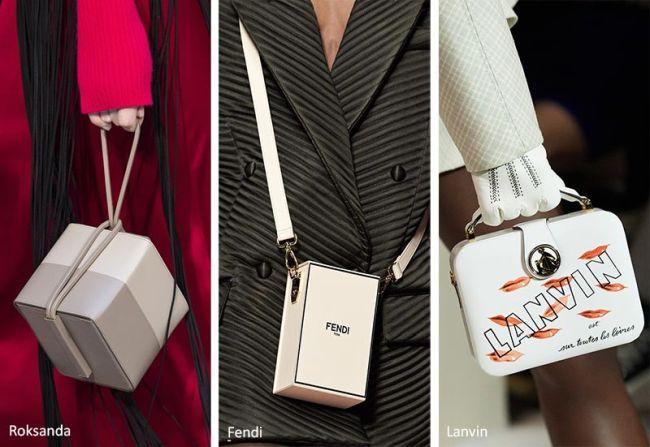 Миниатюрные сумки-коробочки из коллекций Roksanda, Fendi, Lanvin