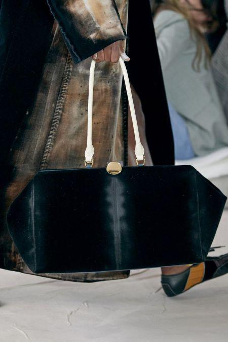 Бархатная сумка из коллекции осень-зима 2020-2021 Marni