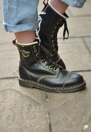 Женские ботинки мартинсы