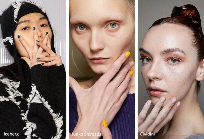 Модная длина ногтей осень-зима 2020-2021 - короткие ногти