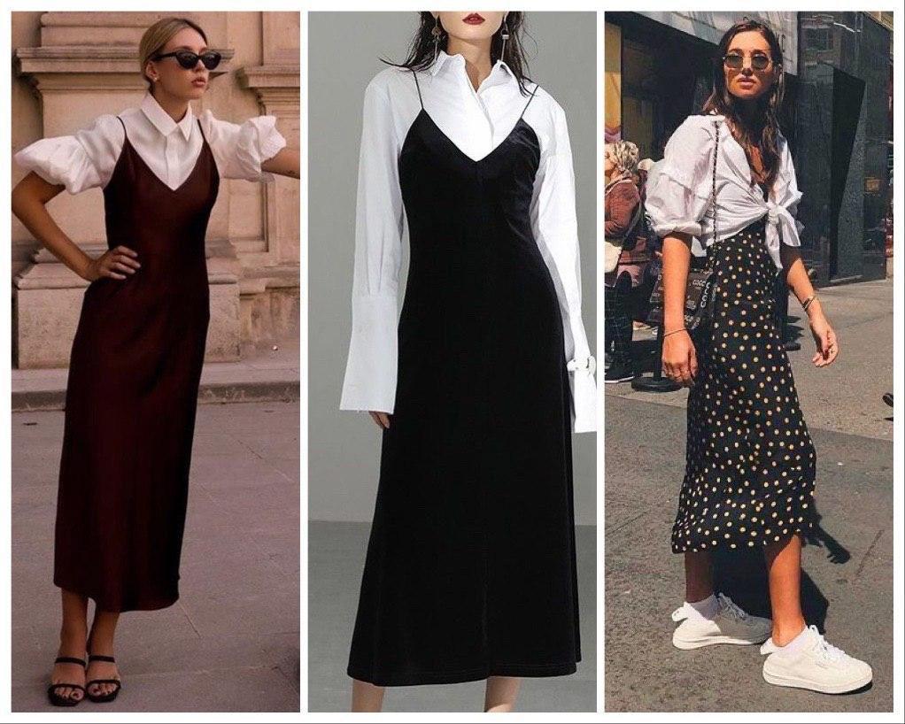 Как стилизовать белую рубашку оверсайз