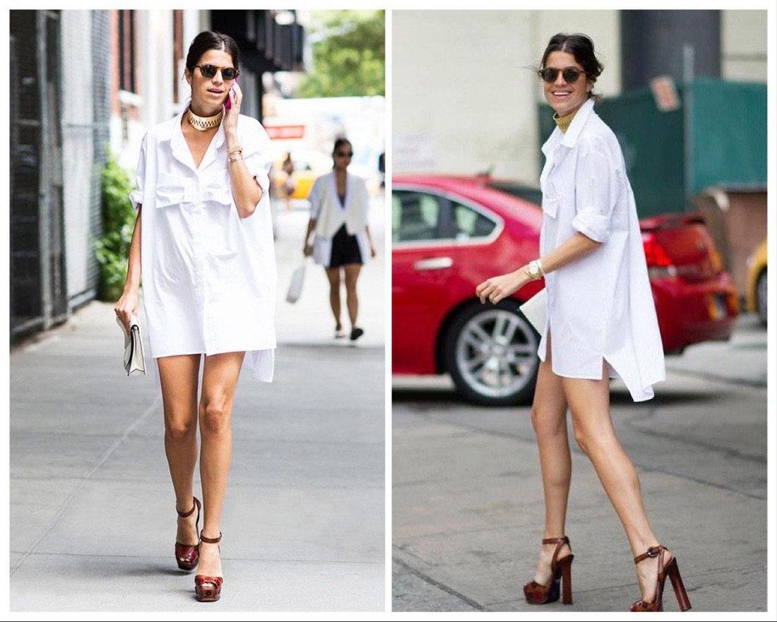 Рубашка = платье