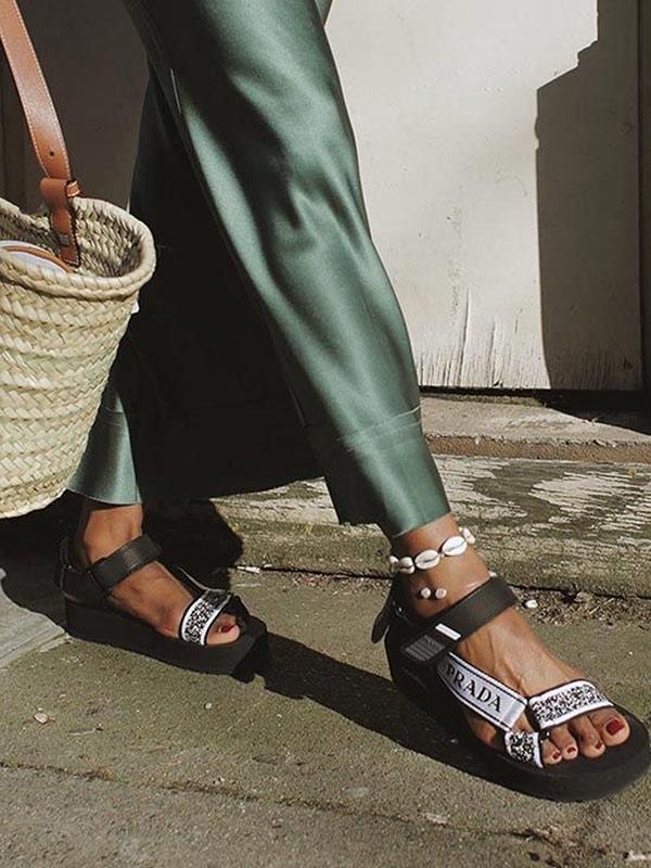 Агли сандалии во всей их красе