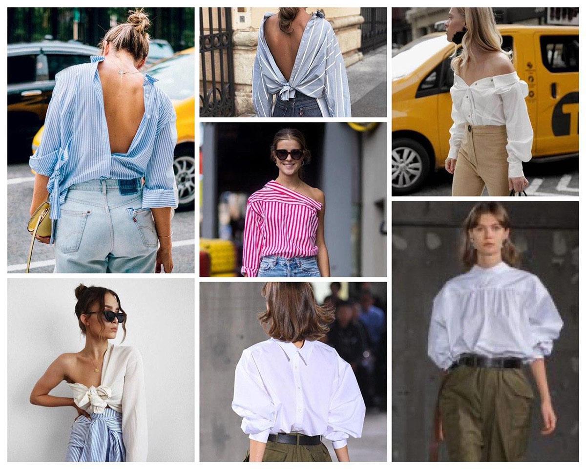 Для самых смелых: креативные образы с рубашкой оверсайз
