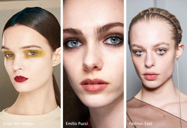 Как сделать модный макияж - smokey eyes и цветные тени
