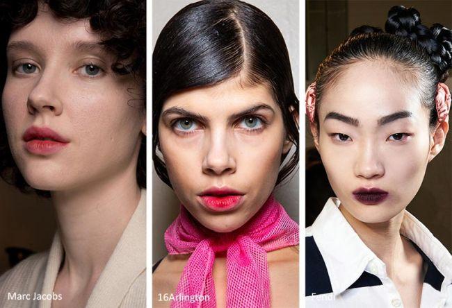 Модный прием в макияже - эффект размазанных губ