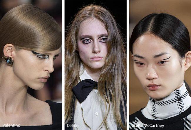Оригинальные стрелки для модного макияжа