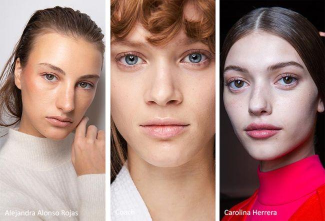 Модный макияж осень-зима 2020-2021 - натуральный