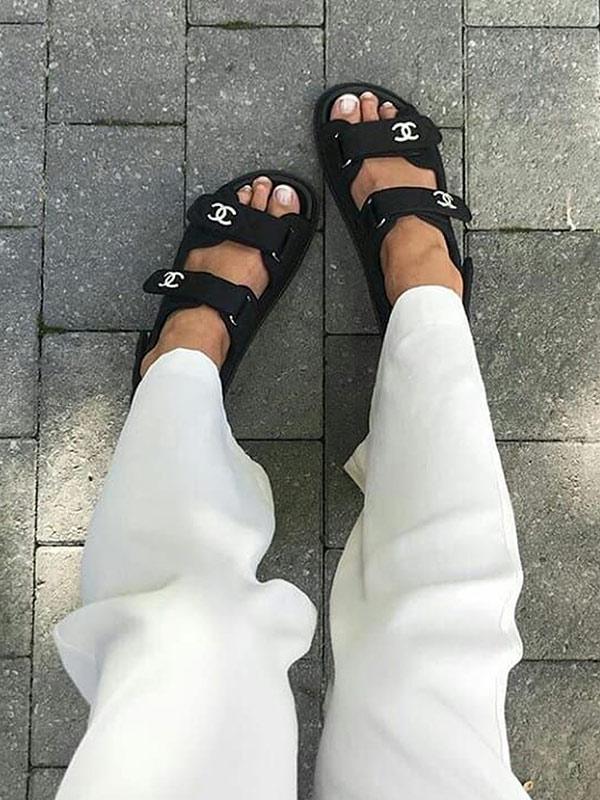 Агли сандалии от Chanel