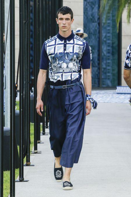 Тенденции мужской моды весна-лето 2021 - морской стиль
