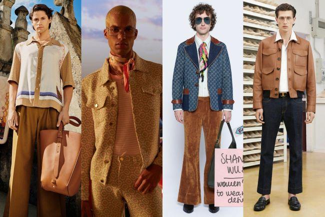 Одежда 70-х годов - модная мужская одежда весна-лето 2021