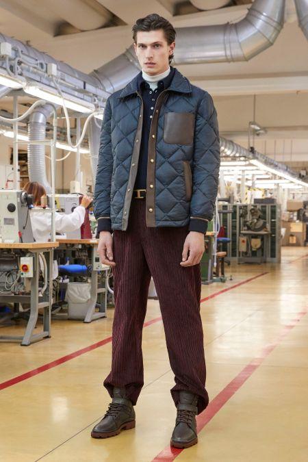 Модные вельветовые брюки Tod`s