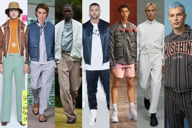 Модный элемент мужской моды 2021 - бомбер