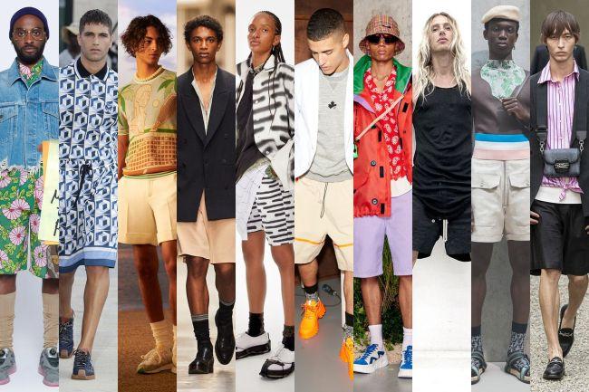 Шорты-бермуды - базовый мужской гардероб на весну 2021