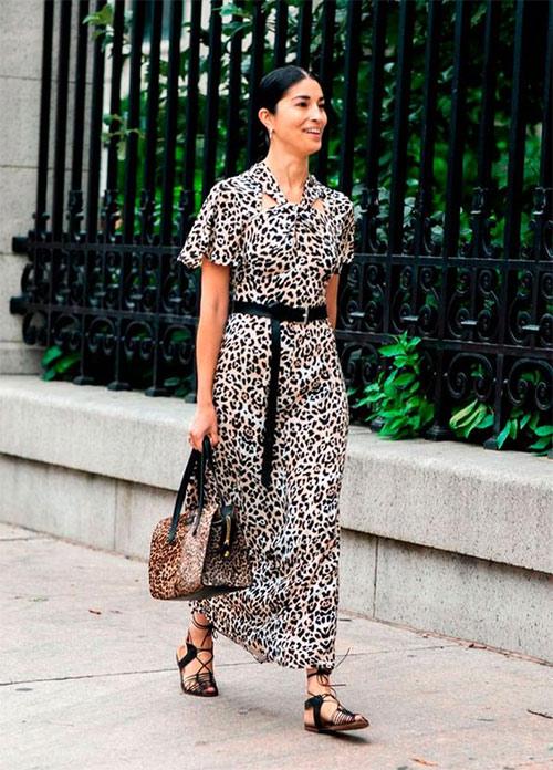 Платье и сумка с похожими принтами