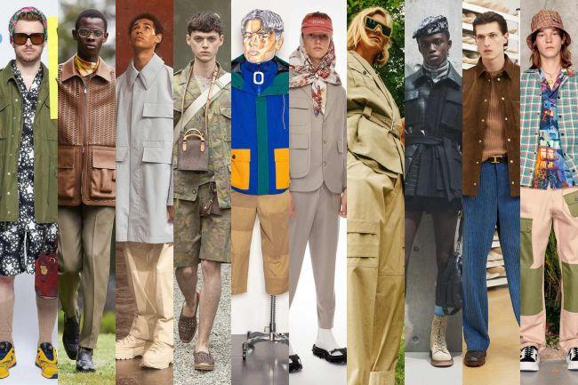 Модная мужская весенняя одежда - функциональные модели