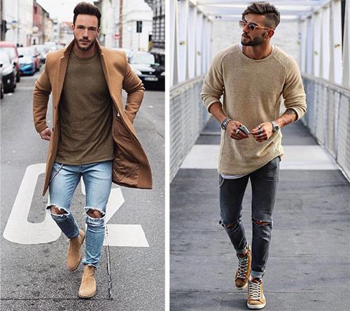 Образы с джемпером. Мужская мода