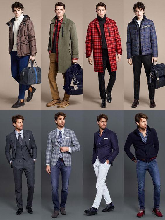 Мужской гардероб. Как сочетать пиджак с брюками и образы длдя осени