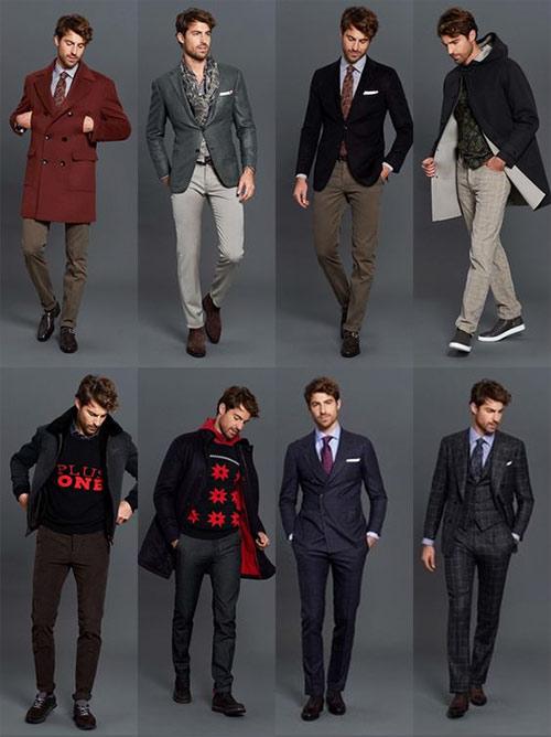 Образы в стиле smart casual и классическом деловом для мужчин