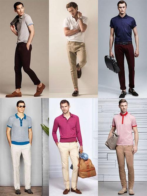 Поло: с чем носить мужчине