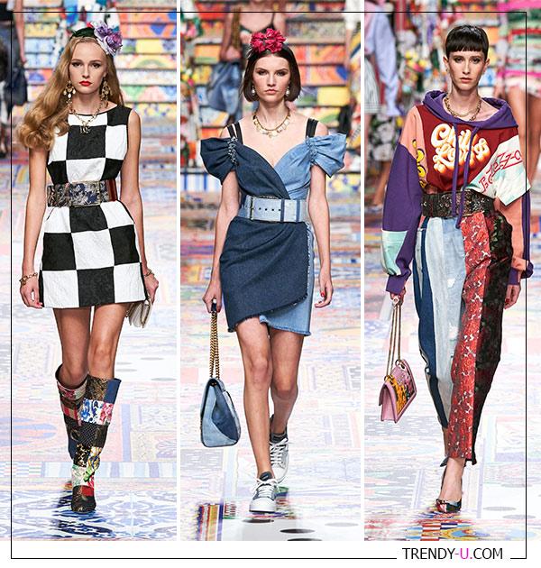 Модная коллекция Dolce & Gabbana 2021