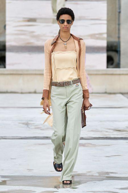 Прямые брюки из коллекции Chloe