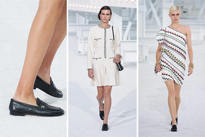 Туфли лоферы к образщам из коллекции Chanel