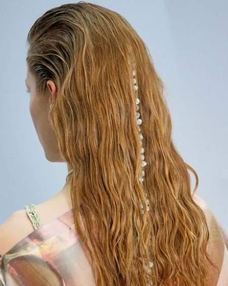 Модный тренд причесок - аксессуары для волос