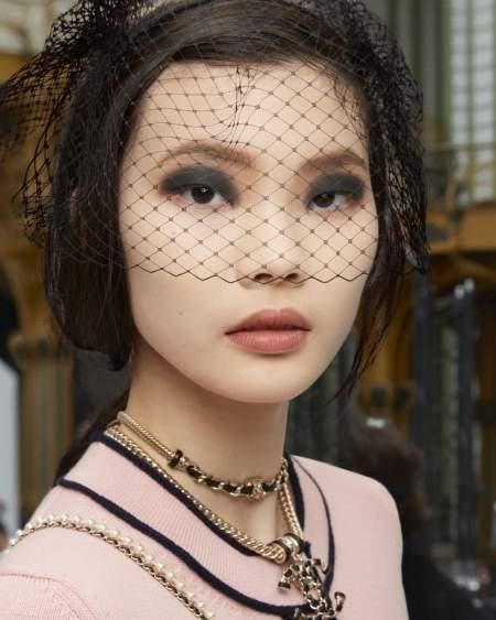 Смоки айс в коллекции весна-лето 2021 Chanel